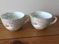 Tea cups , pip studio, beautiful condition.