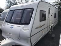 Bailey senator Wyoming 2006 model fixed bed twin axle touring caravan