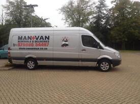 Man and van removals and deliveries excellent services