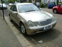 Mercedes Benz C Class C220 CDI 2000 for Parts or can be Repaired Buyer Collects