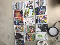Nintendo Wii. Lots of accessories and 16 games.