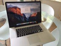 Macbook Pro (17-inch, Early 2011) 2.2GHz i7, 8GB Ram, Intel HD 3000 512MB Gfx