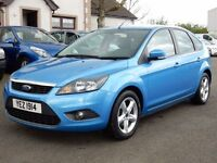 2009 ford focus 1.6 petrol zetec with only 57000 miles, motd july 2017 excellent example