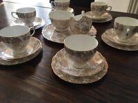 Royal Vale 21 piece tea service