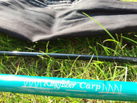 12' (3.6m) Two-Piece Kingfisher Carp Rod - BARGAIN! (Shed Clearance)