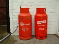 Propane gas cylinders x2. will deliver to local area