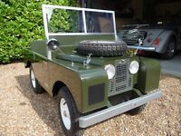 Toylander Series 1 Land Rover electric child's car