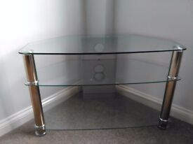 M&S Glass TV Unit
