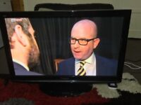 """50"""" PANASONIC VIERA TXP50X10B HD TV WITH BUILT IN FREE VIEW IN GREAT CONDITION."""