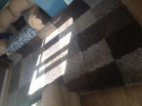 Amazing shaggy rug brown