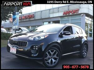 2017 Kia Sportage SX TURBO/NAV/ Demo 3.8% interest OAC