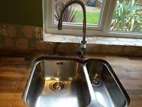 Kitchen double sink & tap (Frank model)