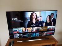 Samsung 55 inch; TV UHD 4K TV.