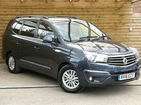 SsangYong Turismo 2.2 EX 5dr Tip Auto 7 SEATER (cyber grey metallic) 2016