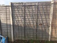 Metal garden/driveway gates