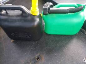 Fuel bottle x2