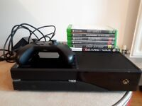 Xbox One 500GB Black + Games and Controller!
