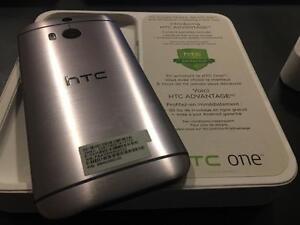 HTC M8 32GB Gun Metal Gray - UNLOCKED - NEW 10/10 - Guaranteed Activation + No Blacklist