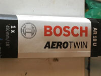 Windscreen Wiper Blade - Bosch AeroTwin - AR18U