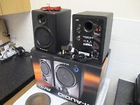 M AUDIO AV 40 ACTIVE MONITORS
