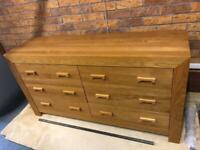 NEXT 6 drawer long chest LIKE NEW