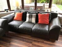 2 x Large 3 seater couches