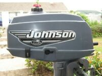 Johnson 2HP Outboard Engine