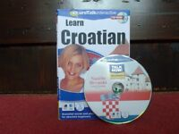 Learn Croatian CD-ROM - essential words & phrases for absolute beginners