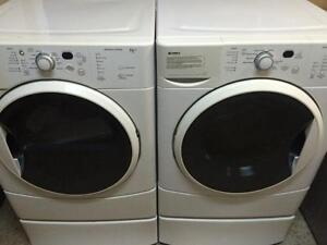 Kenmore HE2T Laveuse Secheuse Frontales Frontload Washer Dryer