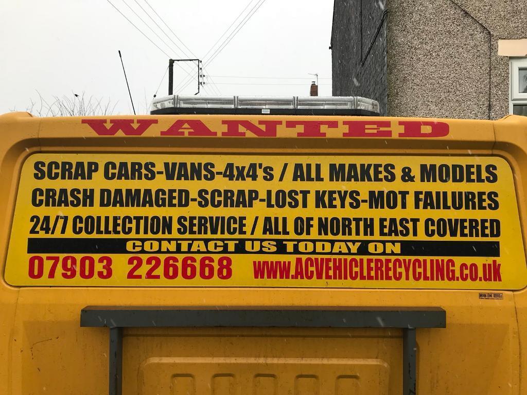 ♻️we buy scrap cars♻ | in Bishop Auckland, County Durham | Gumtree