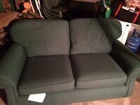 Green Two Seat Sofa
