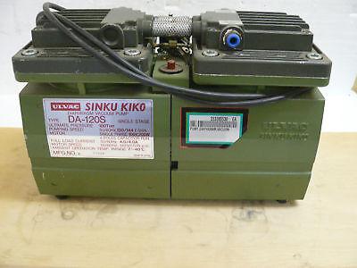 Ulvac Sinku Kiko Da-120s Diaphragm Vacuum Pump