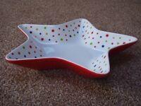 Star shaped fruit bowl by John Lewis.