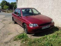ford escort serenade 16v 1597cc Low Mileage