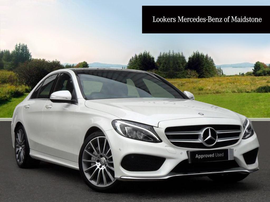 Mercedes Benz C Class C250 Bluetec Amg Line Premium White