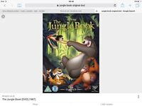 Jungle book original dvd