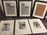 Brand new Ikea Frames plus prints x 3 ( sold pending collection)