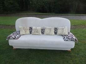 Designer 3 Seater Settee/Sofa Bed