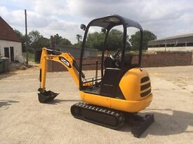 mini digger hire poole/bournemouth from £65 cheapest in dorset