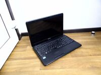 Toshiba Laptop, notebook (intel i3, 4GB RAM, 320GB Hard Drive, win 10, webcam)