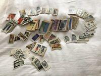 Assorted cigarette/tea cards