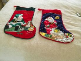 Two cute Christmas stockings