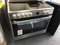 Electric 90cm range cooker new 12 month gtee £420