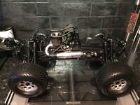 Nitro buggy 5.9 very fast