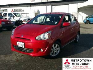 2014 Mitsubishi Mirage SE; Local, Low KM