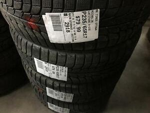 235/65/17 Michelin Latitude X-Ice *Winter Tires*