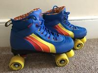 Retro style roller boots size 8