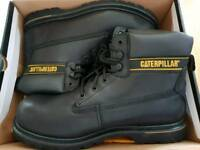 CATERPILLAR safety work boots.