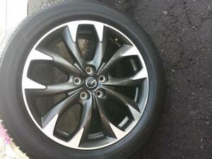ONE WHEEL ONLY. NOT FOUR.   MAZDA CX5 FACTORY OEM 19 INCH WHEELS WITH TOYO HIGH PERFORMANCE 225 / 55 / 19 ALL SEASON