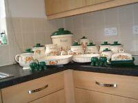 Ceramic Kitchen Containers & Ovenware set